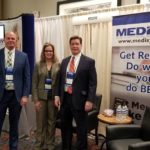 Jason, Carrie and Mark at MGMA Winter Conference 2019